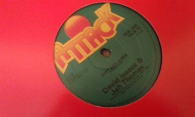 """David Isaacs & Jah Thomas , Just Like A Sea , 12 """" Attack Record Label"""