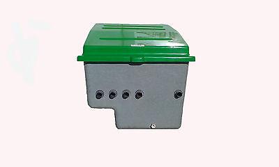 Caseta para piscinas semienterrada, Filtro, Válvula selectora y Bomba 3/4 HP