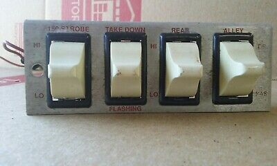 Whelen Light Control Panel Switch Board
