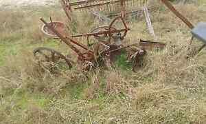 Horse Drawn Plough Runnymede South Burnett Area Preview