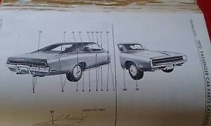 70/71 MOPAR PARTS MANUAL Shelley Canning Area Preview