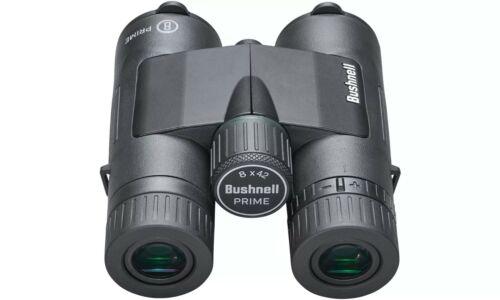 BUSHNELL PRIME 8x42 BINOCULARS BLACK ANTI WATER + FOG IPX7 MULTI COATED OPTICS