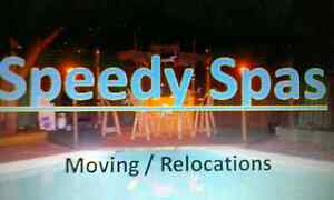 Spa Moving / Relocation. Speedy Spas. Mount Claremont Nedlands Area Preview