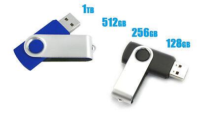 Usb 2 0 Flash Drive Disk Memory Stick Thumb Storage Swivel 1Tb 512Gb 256Gb 128Gb