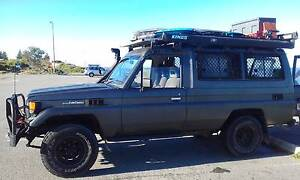1986 Toyota LandCruiser Troop Carrier 4wd Camper City Beach Cambridge Area Preview
