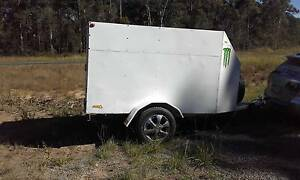 fully lock up motorbike trailer Buderim Maroochydore Area Preview