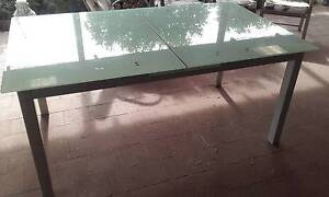 Outdoor Smoked Glasstop Table Hallett Cove Marion Area Preview