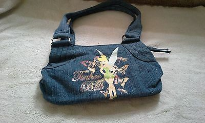Disney Tinkerbell small denim purse](Tinkerbell Handbag)