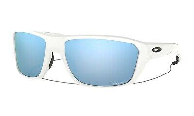 Oakley Split Shot POLARIZED Sunglasses OO9416-0764 White W/ PRIZM Deep (Oakley Prizm Water)