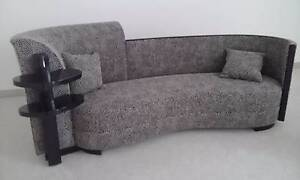 Designer couch (Black & white Warwick Fabric) Hope Island Gold Coast North Preview
