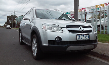 HOLDEN CAPTIVA LX TURBO DIESEL 2009 WITH REGO AND RWC 7seater Tarneit Wyndham Area Preview