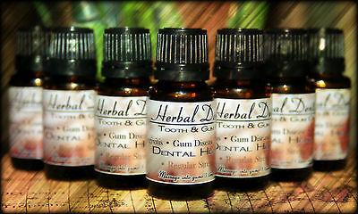 7 Pack Herbal Dentist - Pro Dental Health Formula! Gum Disease Mouthwash!