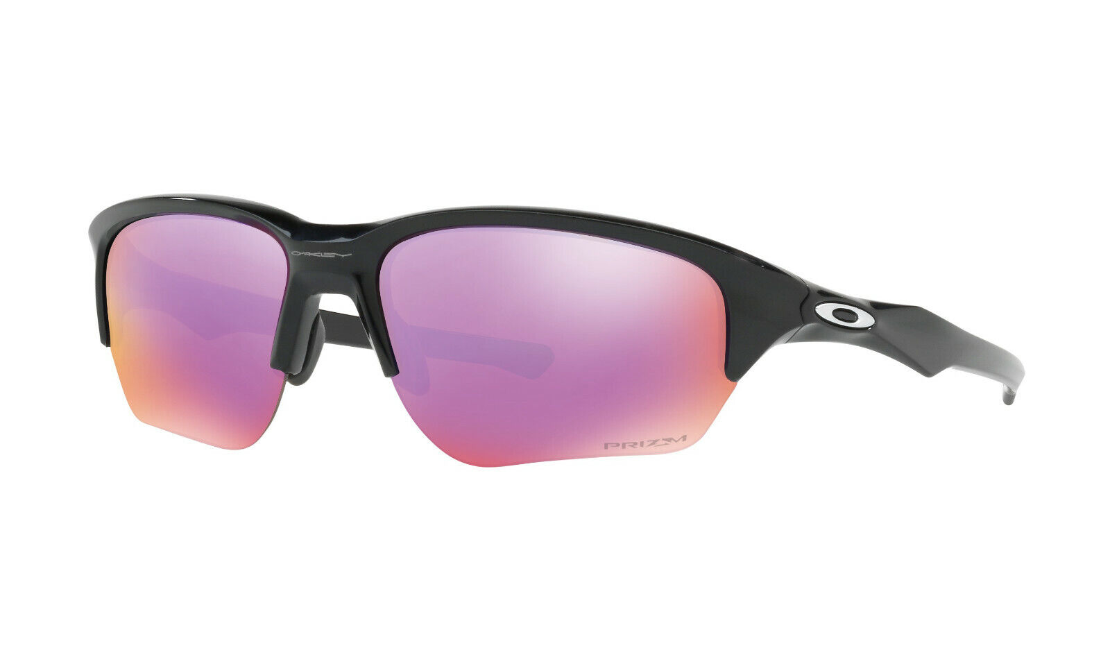 Oakley Men's Flak Beta Prizm Iridium Rectangular Sunglasses Prizm Golf Lens