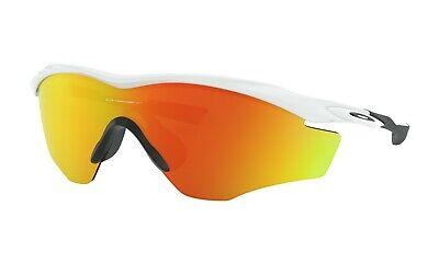 Oakley M2 Frame XL Sunglasses OO9343-05 Polished White W/ Fire Iridium (Oakley M2 Frame Sunglasses)