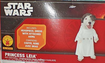 Star Wars Dog Halloween Costumes (Halloween Star Wars Princess Leia Dog Costume (AVAILABLE SIZES XSmall or)