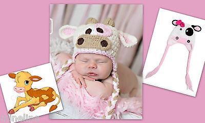 ★★★ NEU Baby Fotoshooting Kostüm Kleine Kuh Kälbchen 0-6 Monate ★★★Nr.N ()