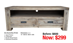 TV UNITS - up to 80% OFF RRP Leumeah Campbelltown Area Preview
