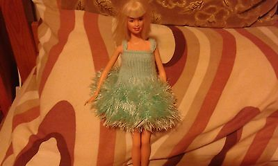 Hand knitted clothes for barbie / sindy