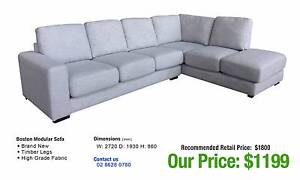 MODULAR SOFA SALE - up to 80% OFF RRP Granville Parramatta Area Preview