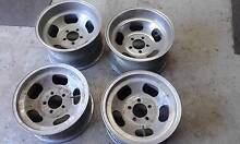 FORD  WESTERN MAG  WHEELS 81/2 X 15 INCH  HQ  CHEVE . MULTI FIT Longwood Strathbogie Area Preview