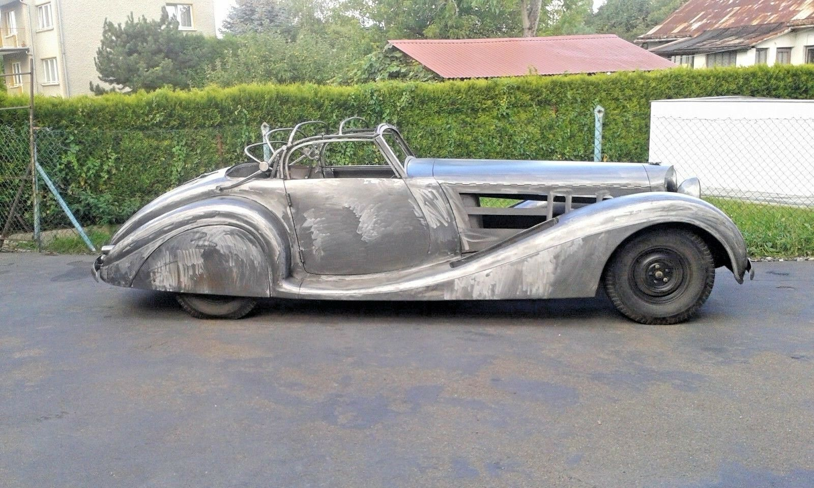 1939 Replica/Kit Makes Mercedes Benz 540K Cabriolet A 540K Cabriolet A 1939 MERCEDES-BENZ 540K CABRIOLET A HANDMADE STEEL BODY REPLICA
