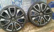 Commodore  ve22 inch wheels Ruse Campbelltown Area Preview