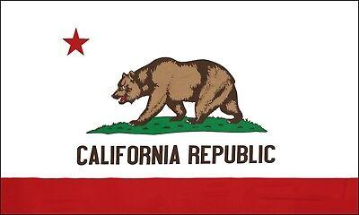 Fahne Flagge - Kalifornien - California - 90 x 150 cm, mit 2 Ösen
