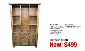 PSF BOOKCASE 3 DRAWERS 2 DOORS Granville Parramatta Area Preview