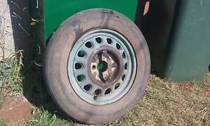 1930s 40s steel rim and tyre only $10 Acton Burnie Area Preview