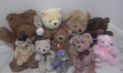 10 teddy bears bundle