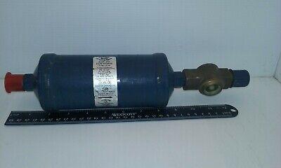 Alco Adk-305 Refrigerant Liquid Line Filter Drier With Valve 58 Sae