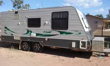Caravan 20 Foot - Coromal Element 612 - RTV edition