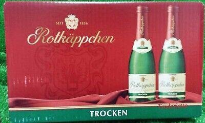 (7,60€/l) 24x Rotkäppchen Sekt 0,02l TROCKEN Piccolo Flaschen Geschenkidee !!!