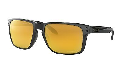 Oakley Holbrook XL Sunglasses Polished Black Frame w/ Prizm 24K Polarized