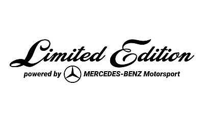 Limited Edition MERCEDES Motorsport Aufkleber Sticker JDM WS-10-07-10001