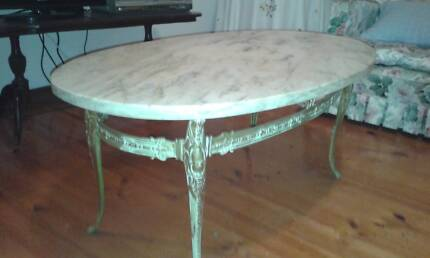 Marble Coffee Table- undamaged solid Italian Marble. Lake Macquarie Area Preview