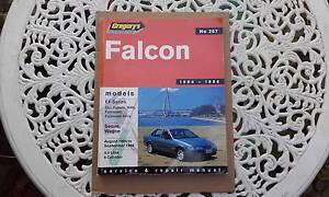 EF Ford Falcon Workshop Manual Gregorys 267 (8/1994-9/1996) Narre Warren Casey Area Preview