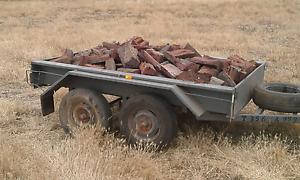 Dry jarrah firewood delivered busselton $170 Busselton Busselton Area Preview