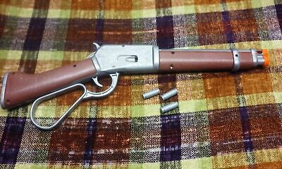 Electronic Western Lever Action Rifle Toy Mare's Leg Style Wanted Dead or Alive