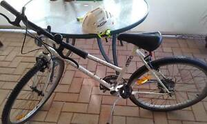 Malvern Star Mountain Bike and Helmet