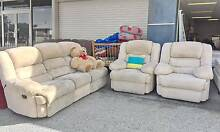 TODAY DELIVERY LUXURY COMFORTABLE ALL 4 RECLINER 3X1X1 sofas set Belmont Belmont Area Preview
