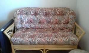 Cane lounge chairs
