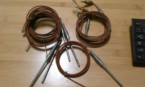 TEMPERATURE PROBES, 3/16 INCH DIAMETER, 3 1/4 INCHES LONG, LOT OF 7