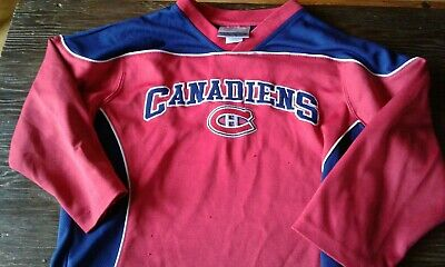 NHL Montreal Canadiens Jersey - Size Kids 6 - Embroidered and Licensed - Habs for sale  Canada
