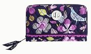 Vera Bradley Clutch Wallet Floral Nightingale