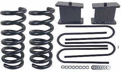 "Usado, 3/4 Drop Kit S10 2wd V6 3"" Front Springs 4"" Rear Fab Steel Blocks Ubolts comprar usado  Enviando para Brazil"