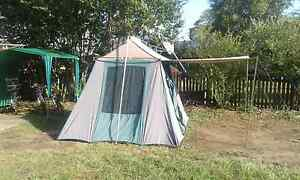 Freetime canvas tent 9x9 canvas.up to six people Acacia Ridge Brisbane South West Preview