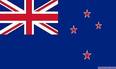 """NEW ZEALAND BUDGET FLAG small 9""""x6"""" GREAT FOR CRAFTS KIWIS"""