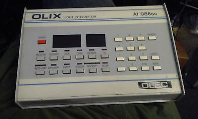 USED OLEC AI 985 SC OLIX LIGHT INTEGRATOR MODULE