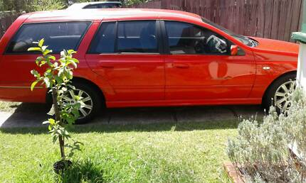 Ford Falcon 2005 Wagon**11 Months Rego**-Backpackers Dream
